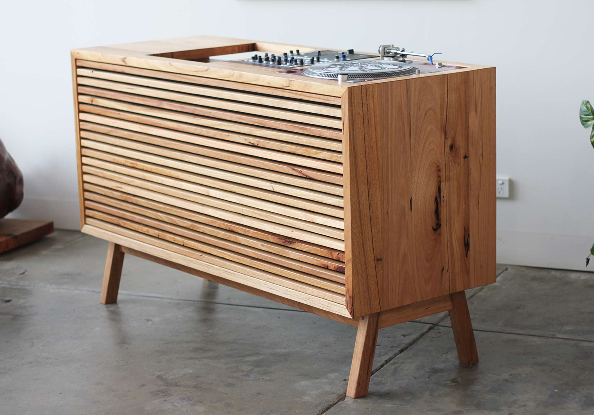 dj console Recycled Timber Furniture Melbourne Yard