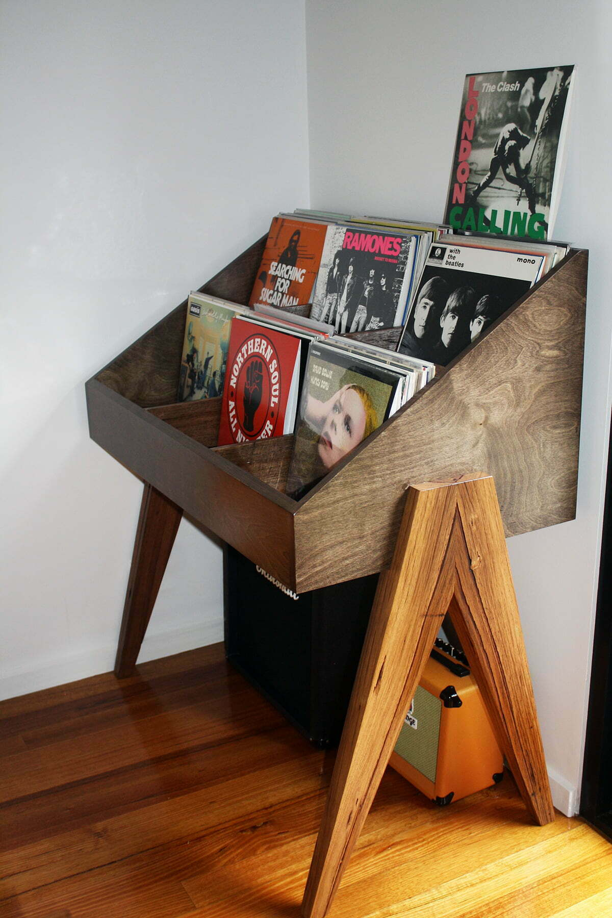 Custom Record Stand