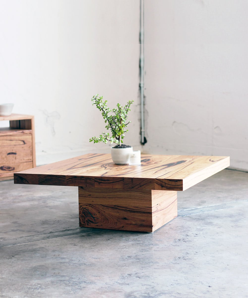 Industrial Coffee Table Melbourne: Recycled Timber Furniture