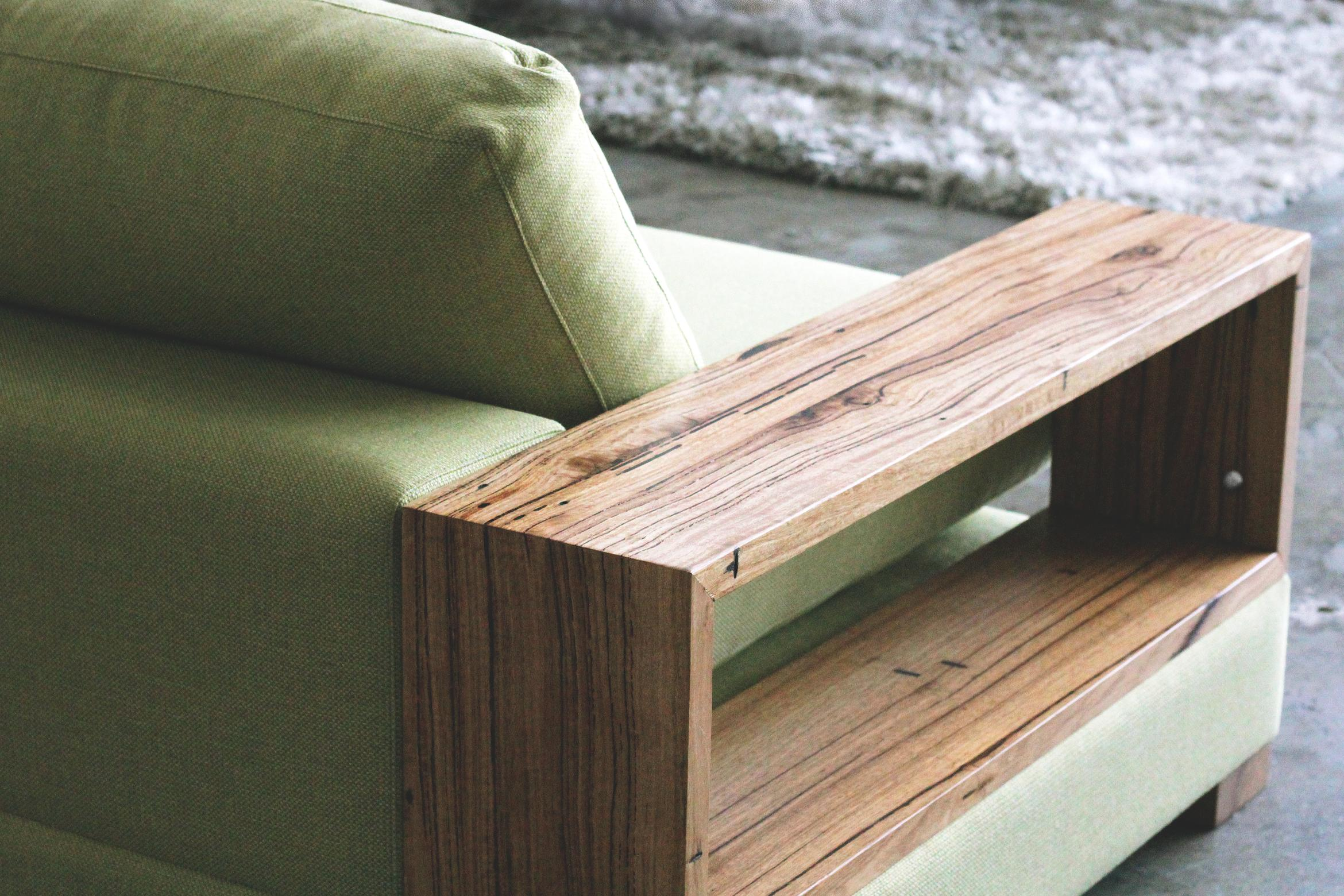 Neptune Sofa Recycled Timber Furniture Melbourne Yard