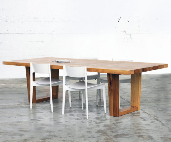 MC Hardwood Dining Table
