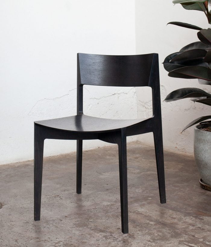 Black Elementary dining chair