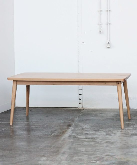 Recycled timber Lily dining table