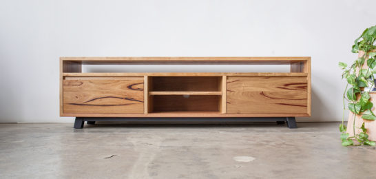 Walking Walrus Timber Console Unit