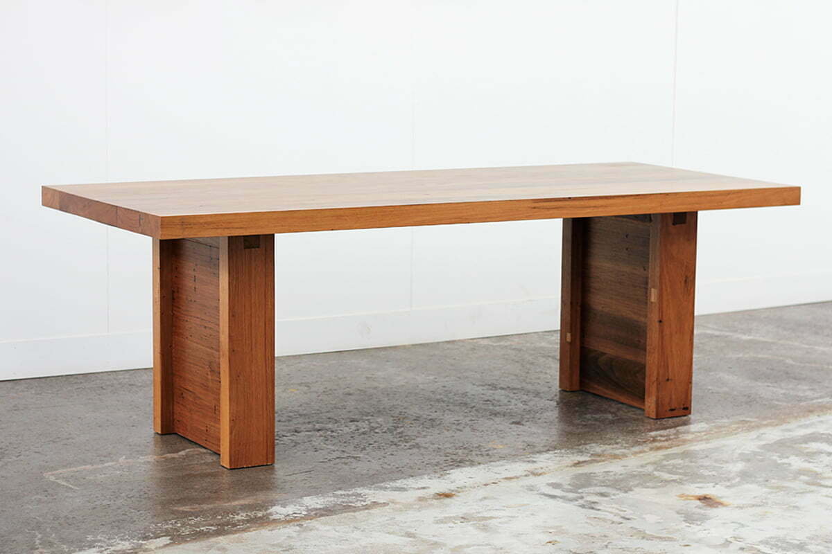 The Sunday Roast Dining Table Recycled Timber Furniture