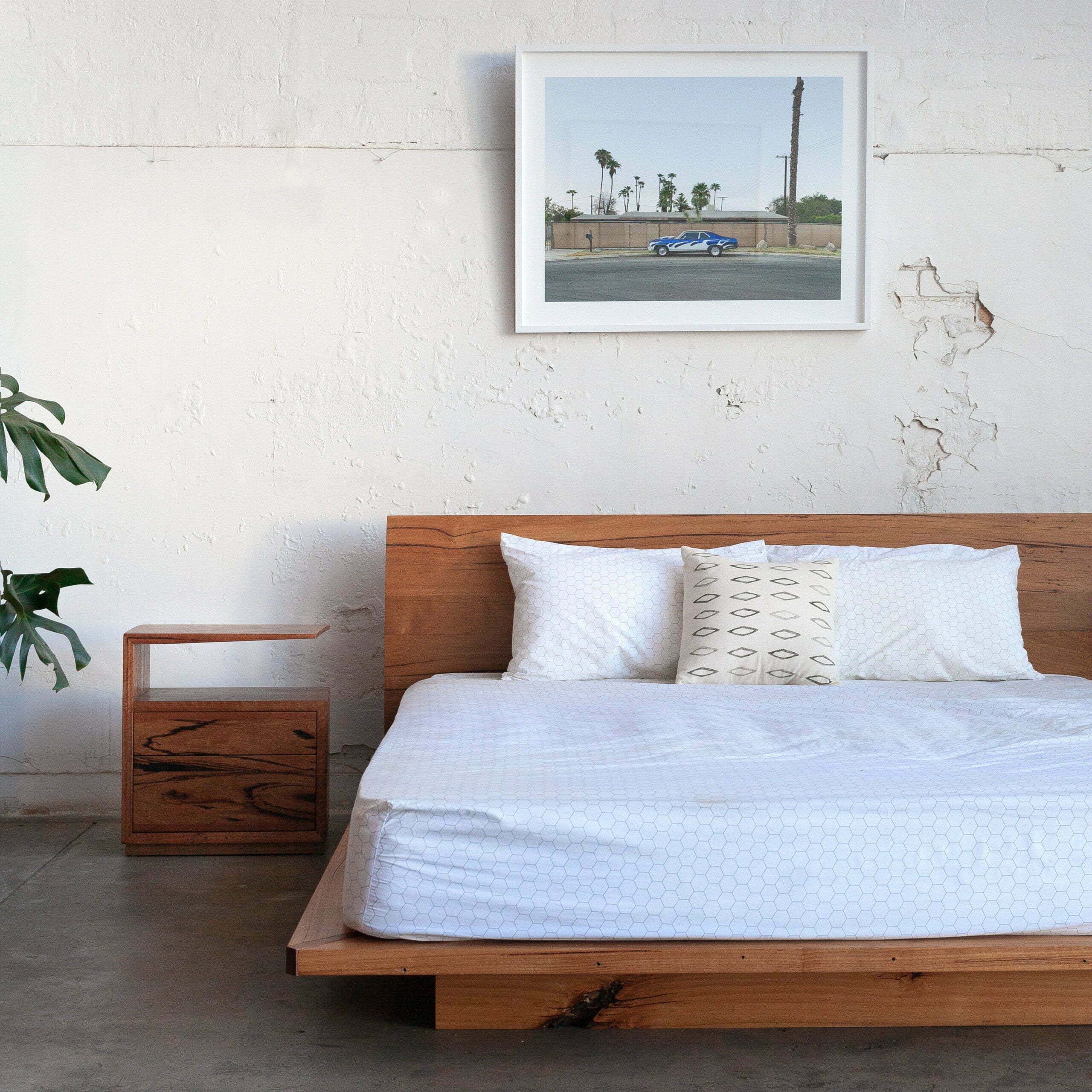Picture of: Sunrise Platform Bed Recycled Timber Furniture Melbourne Yard Furniture