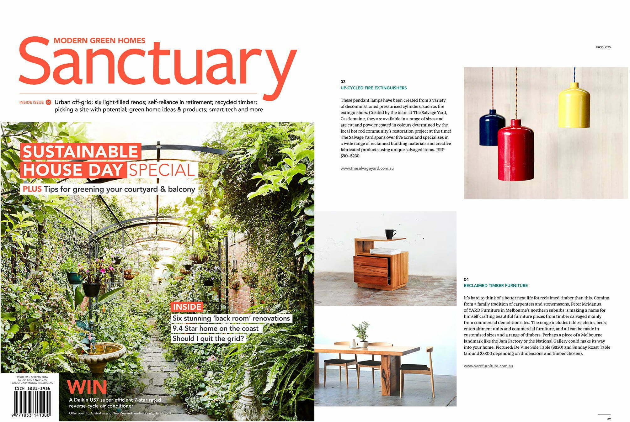 Sanctuary Magazine – Spring 2016