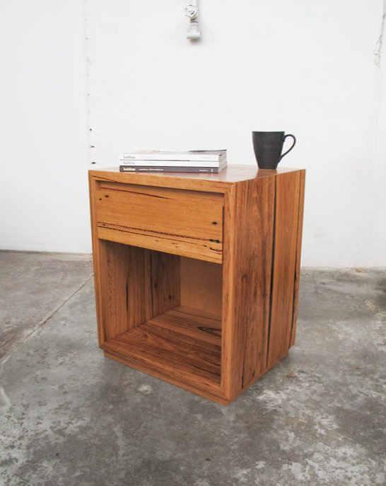 Classic Timber Bed Side Table