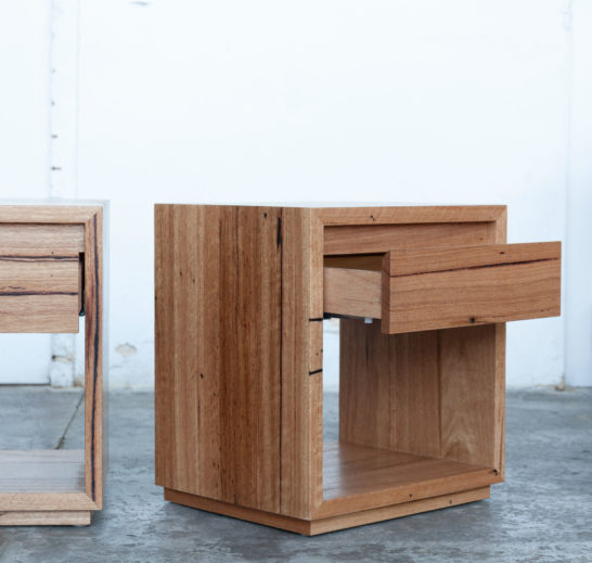 timber bedside tables from Yard Furniture in Melbourne