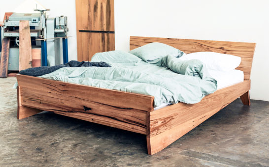 YARD Kumo Bed Custom Hardwood Bed