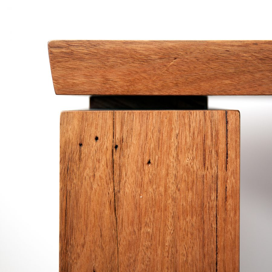 Timber desk Joinery detail