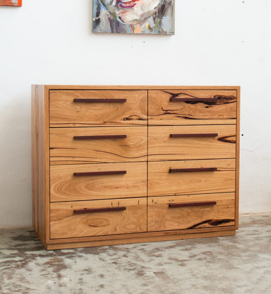 OSCAR the tallboy timber drawers