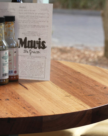 Mavis the Grocer Custom Tables