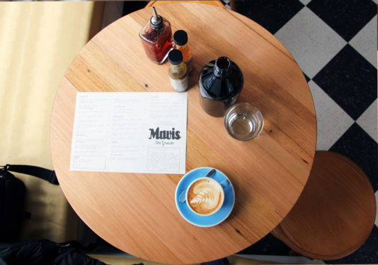 Mavis The Grocer Custom Cafe Tables
