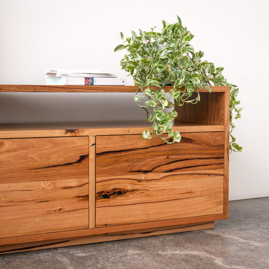 Custom Walrus Console Recycled Timber