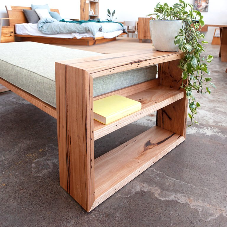 Custom daybed made from recycled Messmate