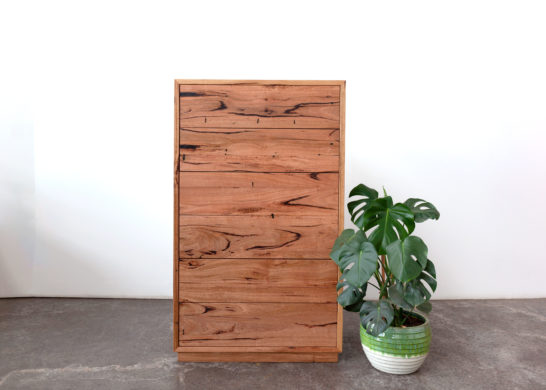 YARD Furniture custom recycled furniture Tallboy