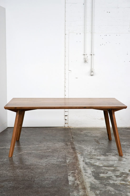 Danish design custom timber table
