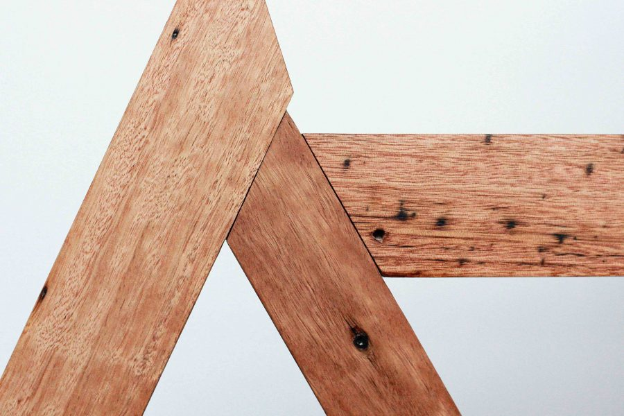 Joinery details of Tipi side table