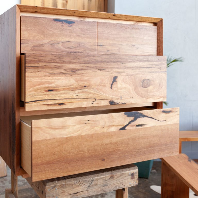 timber tallboys with 6 drawers