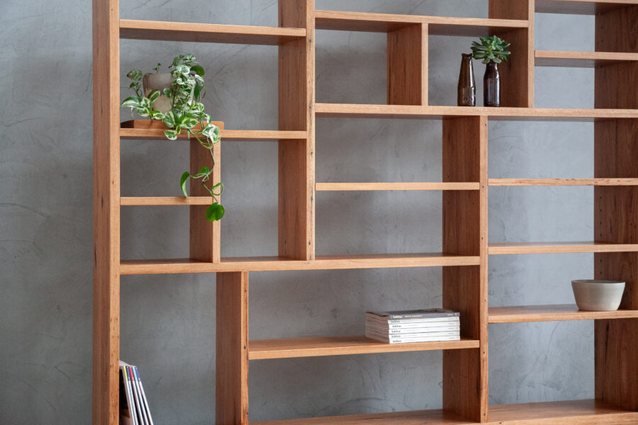 wall unit detail