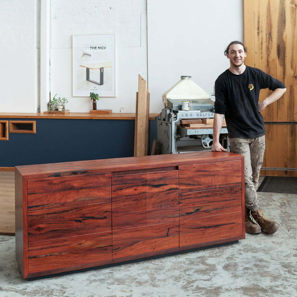 custom made Redgum console