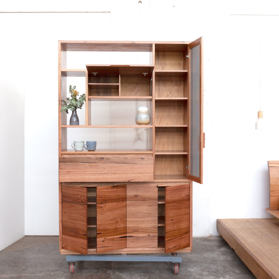 timber kitchen cabinet