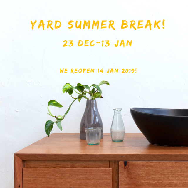 Yard Summer Break
